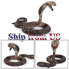 "Mini Naja Cobra Snake 1.5"" Fake Realistic Model Toy Figure Collector Gift Kids"