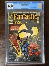 Fantastic Four #52 CGC 6.0 1st Black Panther (unpressed).