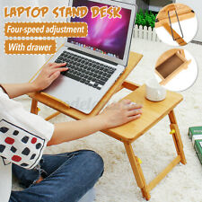Foldable Notebook Laptop Desk Lap Table Bed Pad Tray Computer Stand Adjustable