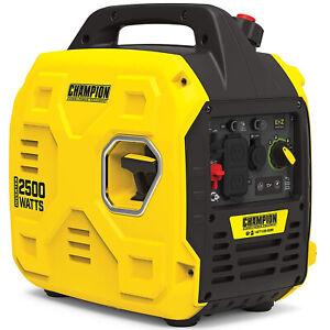 Champion Power Equipment 200951 2500-Watt Portable Inverter Generator,Ultralight