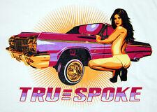 Truespoke Lowrider T-Shirt True Spoke Truspoke Truspoke Wire Wheels Low rider