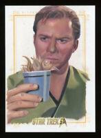 Star Trek Inflexions William Shatner as Captain Kirk Sketch Card by Kevin Graham