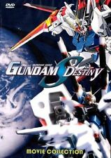 Gundam Seed Destiny DVD Movie Collection (4 Movies in English and/or Japanese)