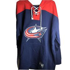 Fanatics NHL Columbus Blue Jacket  Sweatshirt Lace Up Men's 3XL Embroidered