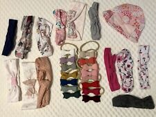 Baby Girl headbands & bows (lot: 29 Pieces) never worn