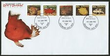 Australia 1985 Marine Life Series Ii Sgs 921,923,927,934,936 First Day Cover