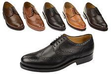 Rahmengenähte Schuhe GoodYear Welted Ledersohle Gordon & Bros Levet 2318