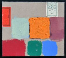 Piet Dirkx # COMPOSITION on CIGAR BOX # ca. 1990, mint
