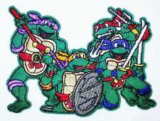 """Teenage Mutant Ninja Turtle Patch Embroidered Iron On Applique 4.0"""" X 2.75"""" TMNT"""
