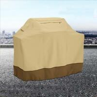 BBQ Gas Grill Cover Barbecue Waterproof Outdoor Heavy Duty Protection Brown