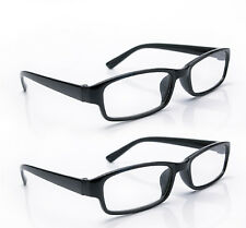 84efb30428 Reading Glasses 2 Packs Mens Unisex Womens UV Reader Trendy Designer