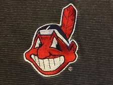 CLEVELAND INDIANS MLB  CHIEF WAHOO PULLOVER JERSEY BY LOGO 7 MEN'S M
