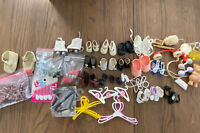 Vintage Lot of Doll Shoes and Accessories