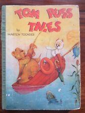 Tom Puss Tales Marten Toonder Book Birn Brothers circa 1948 Colour Plates