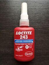 Loctite 243 50ml Schraubensicherung -mittelfest MHD 06/18 -NEU mit Rechnung-