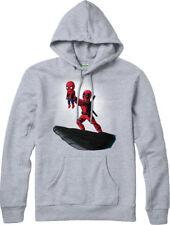 Deadpool Hoodie,Spiderman Lion King Spoof,Marvel Comics Adult and kids Sizes