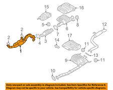KIA OEM 06-10 Sedona 3.8L-V6 Exhaust System-Front Pipe 286104D100