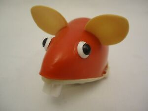 Vintage Rare Plastic Friction Mouse Toy