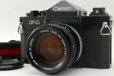 【Near Mint】 Canon F-1 35mm SLR Film Camera W/ FD 50mm F1.4 S.S.C SSC from JAPAN