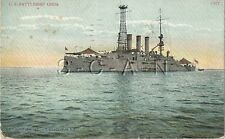 WWI Era Divided Back Navy PC- Battleship USS Ohio- 1907-1915