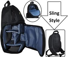 Sling Style Deluxe Shoulder Camera Bag Case For Sony HDR-CX455 HDR-CX675