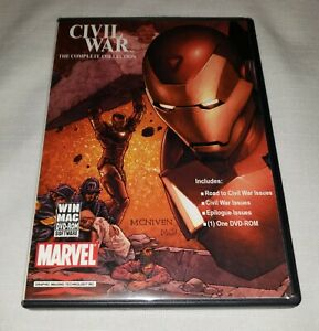 CIVIL WAR The Complete Comic Book Collection, MARVEL, DVD-Rom, GIT Corp 2007