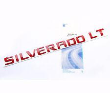 Red OEM SILVERADO LT Emblem Badge Nameplate Letter 2500HD Chevrolet  NEW s WU