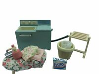 Calico Critters Sylvanian Families VINTAGE Twin Washing Machine and Dryer