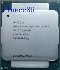 Intel Xeon E5-2678 V3 SR20Z 2.5GHz 12Core 120W 30MB LGA2011-3  CPU Processor