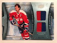 Rod Langway #1 /25 Frozen Artifacts Dual Jersey Insert Parallel Hockey Card