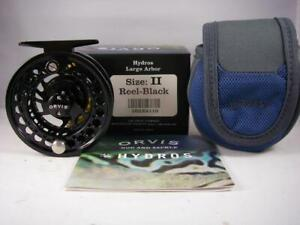 Orvis HYDROS Large Arbor II FLY REEL For 3/4/5 Line WT Rods