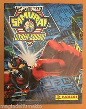 PANINI ALBUM  - SUPERHUMAN SAMURAI SYBER - SQUAD INCOMPLETO 78 su 216