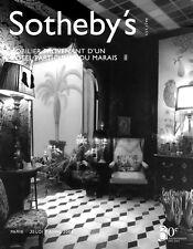 Sotheby's /// Mobilier Provenant Hotel Du Marais Paris Post Auction Catalog 2005