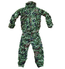 Hunting Forest camouflage Ghillie Suits Forest CAMO Jack Pants Sniper Clothes