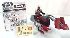 SWOOP Speeder Bike ~Star Wars Shadows of The Empire 1996 Complete POTF ~ B
