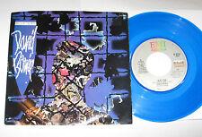 "David Bowie 7"" 45 BLUE COLORED VINYL Blue Jean ERROR LABEL EMI #8231 w/PS 1984"