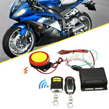 Motorcycle Bike Security Alarm System Anti-theft 12V Remote Control