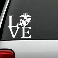 USMC Eagle Globe Anchor LOVE Vinyl Decal Sticker Car Windows Room Laptop