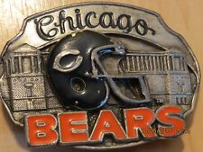 Chicago Bears NFL Official Buckle, Limited Edition, Dedication George S. Halas