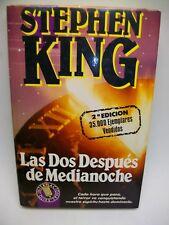 LAS DOS DESPUES DE MEDIANOCHE LIBRO DE STEPHEN KING 2ª EDICION DEL AÑO 1991