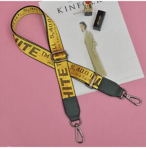 OFF White Shoulder Crossbody Purse Strap Belt Replacement Handbag ADJUSTABLE