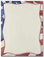 Patriotic Flag Printer Paper 80pk, New, Free Shipping