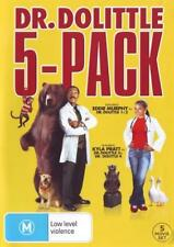5 Movie Collection: Dr Dolittle 1 - 5  - DVD - NEW Region 4