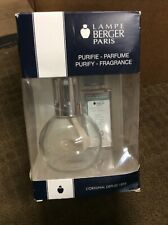 New Lampe Berger Lamp Modern Clear With Ocean Breeze Oil
