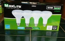 4 Bulbs LED 8W Daylight 5000K BR30 65W  Dimmable  Floodlight