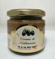 Crema di Melanzane Siciliane vaso da 190gr Prodotto in Sicilia