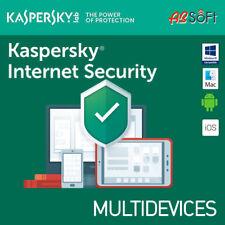 Kaspersky Internet Security 2019 3 Geräte 3 PC 1 Jahr auch für 2018 EU DE