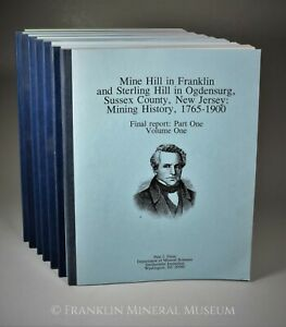 Mine Hill in Franklin and Sterling Hill in Ogdensburg, Sussex County, New Jersey