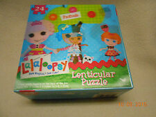 Brand New FRIENDS LaLaLOOPSY LENTICULAR PUZZLE 24 PIECES all stay at home kids