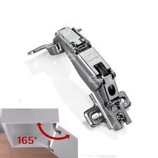 Soft Close Door Hinge 165 Degree Kitchen Cabinet Clip On Angular Corner GTV